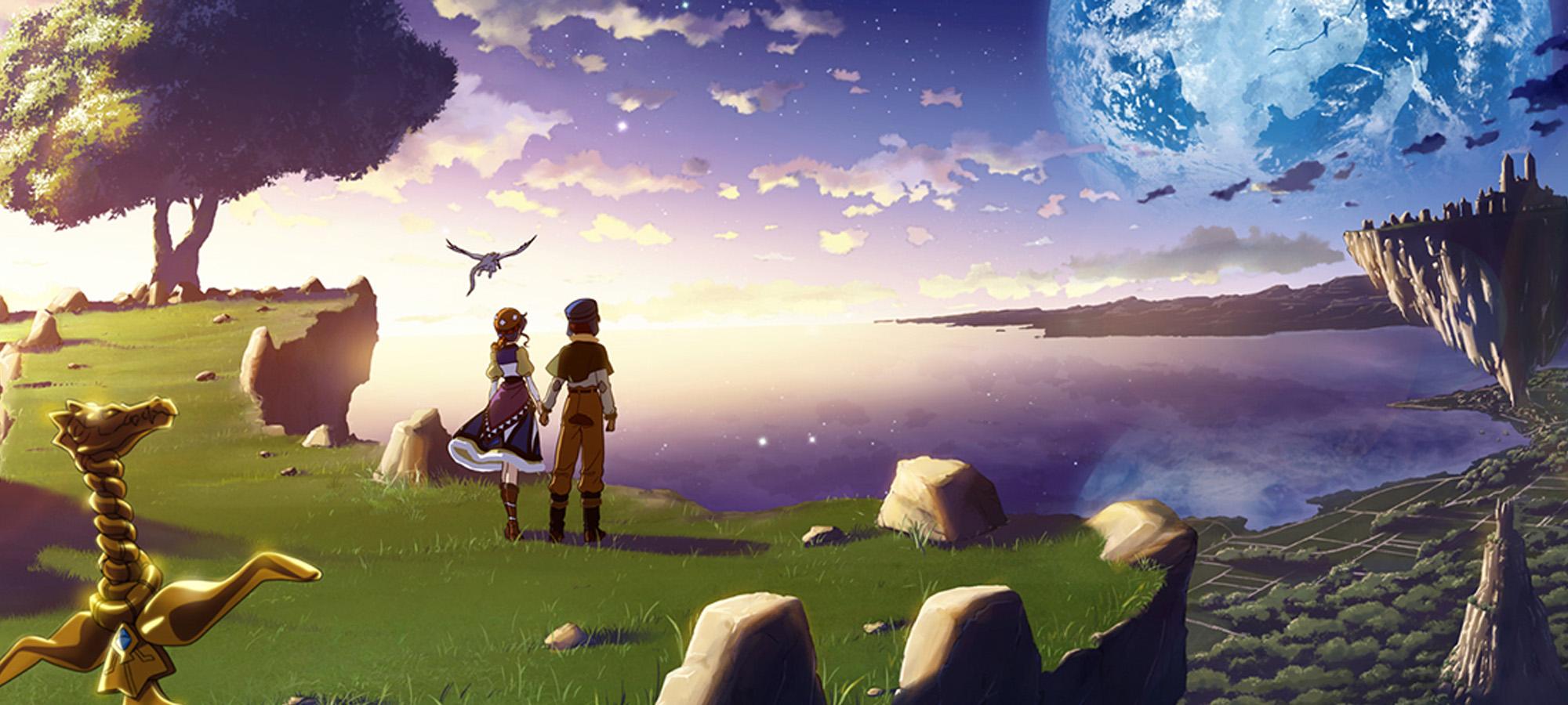 Lunar Silver Star Story
