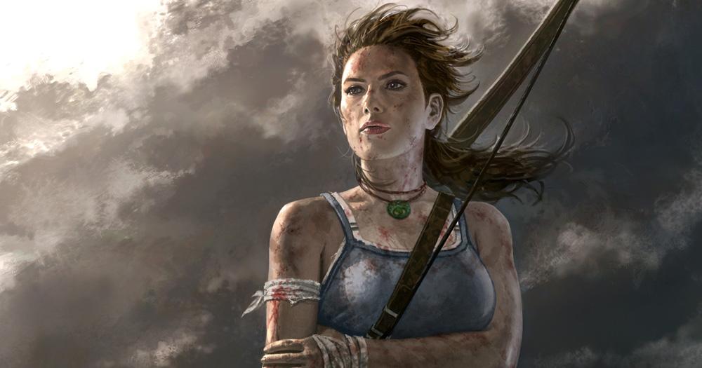 Sauvée, mais comme au travers du feu (Tomb Raider)