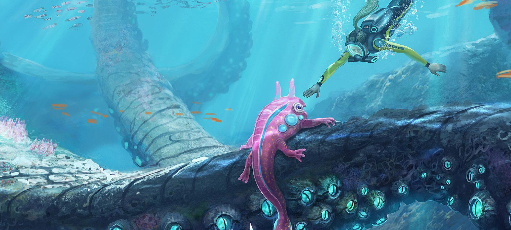Dans l'immensité de l'océan, je me perds (Subnautica)